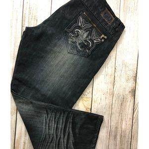 Redemption Jeans - NWT Redemption Black Denim Jeans 44 x 30